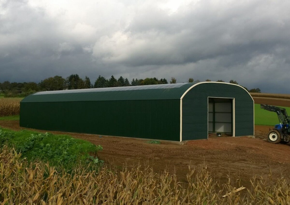 8712 V12 3 8 Agricultural Shed Inspiration Factory For Prefab Steel Buildings Pitchedroof Buildings Variantbuildings Romneybuildings And Corrugated Sheets J Snoei Bv